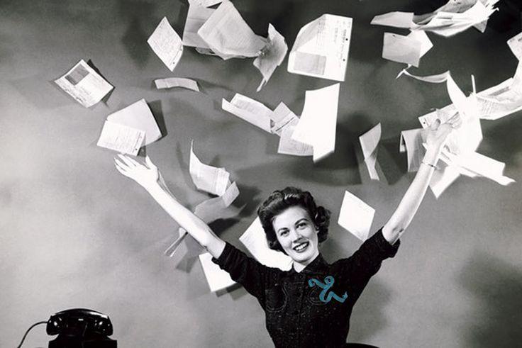 Woman paper