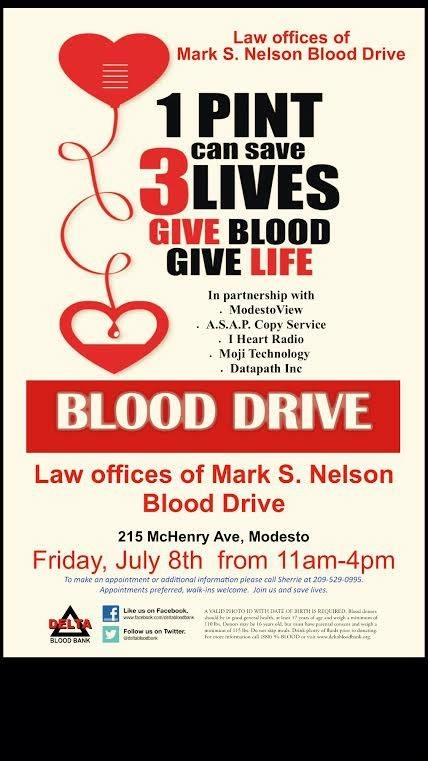 Sponsor Blood Drives