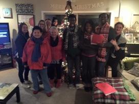 We Christmas Carol we Friends
